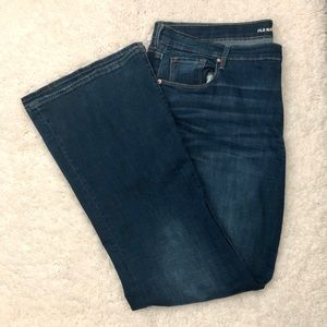 EUC Old Navy Fit & Flare Jeans [Size: 18]